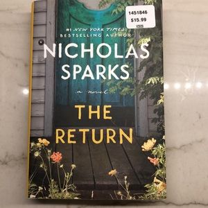 The Return by Nicholas Sparks - hardback EUC